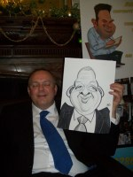 Event Caricatures Liverpool Southport